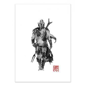 Art-Poster - The Mandalorian - Pechane Sumie