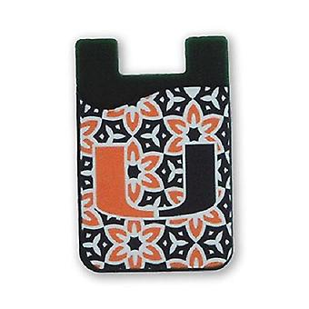 Miami Hurricanes NCAA Fashion Cell Phone Wallet