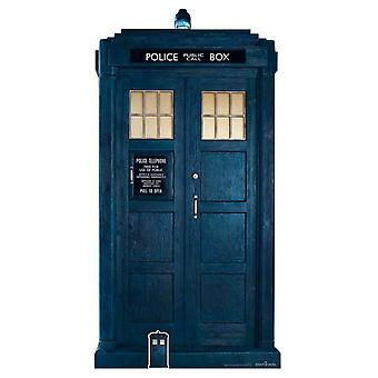 The Tardis from The 13th Doctor Who Official Cardboard Cutout / Standee / Standup