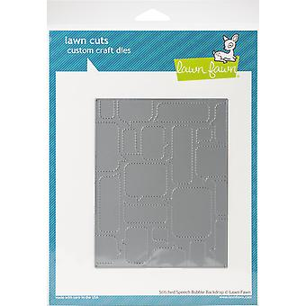 Lawn Fawn Stitched Speech Bubble Backdrop Cutting Die
