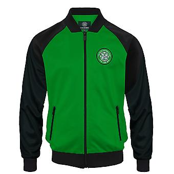 Celtic FC Official Football Gift Mens Retro Track Top Jacket
