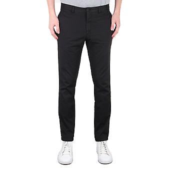 Norse Projects Aros Slim Stretch Black Chinos