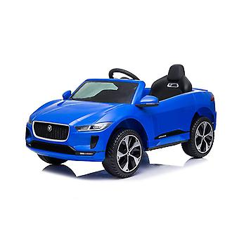 licenced land rover jaguar i-pace blue kids electric ride on car one seater