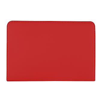 PU bőrtok 360 Forgó Samsung Galaxy Tab A 8 T350 8 & [Red]