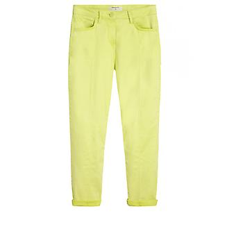 Sandwich Clothing True Lime Cropped Trousers
