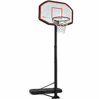 305cm Full Size Basketball Stand Hoop Net Backboard System Adjustable Standing