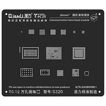 QianLi BGA Stencil Template - Communication Base Band Module - iPhone 7 - S320