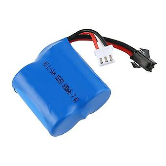 1 Piece RC Boat 7.4V 600mAh Lithium ion battery for RC Boat Skytech H100 H102 H1