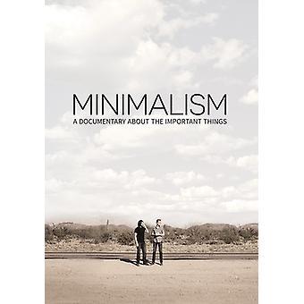 Importer des USA de minimalisme [DVD]