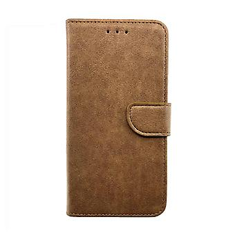 FONU Boekmodel Hoesje Samsung Galaxy Note 20 Ultra - Lichtbruin