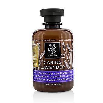 Apivita Gel de ducha suave lavanda para la piel sensible 300ml/10,14 oz el cuidado