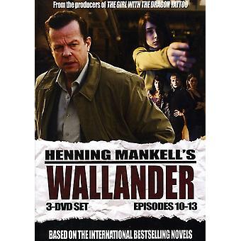 Wallander: Episodes 10-13 [DVD] USA import