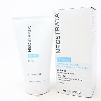 Neostrata Clarify Gel Plus Oily Skin Aha Refiner  4.2oz/125ml New With Box