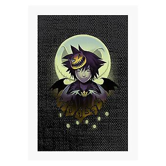 Sora Halloween Kingdom A4 Imprimer