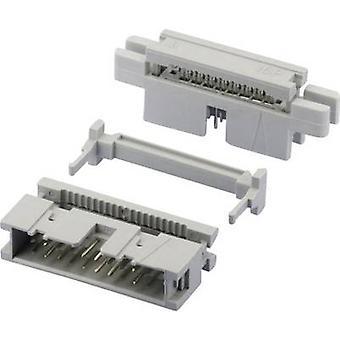 W & P productos Pin tira Número Total 869 (estándar) de espaciado de pines 26 contacto: 2,54 mm 369-26-10-0-60 1 PC