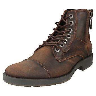 Mens Harley Davidson Lace Up Ankle Boots Maine