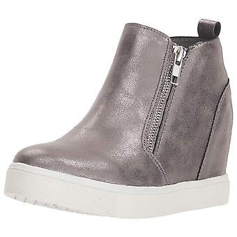 Kids Steve Madden Girls Jwedgiee Low Top Zipper Fashion Sneaker