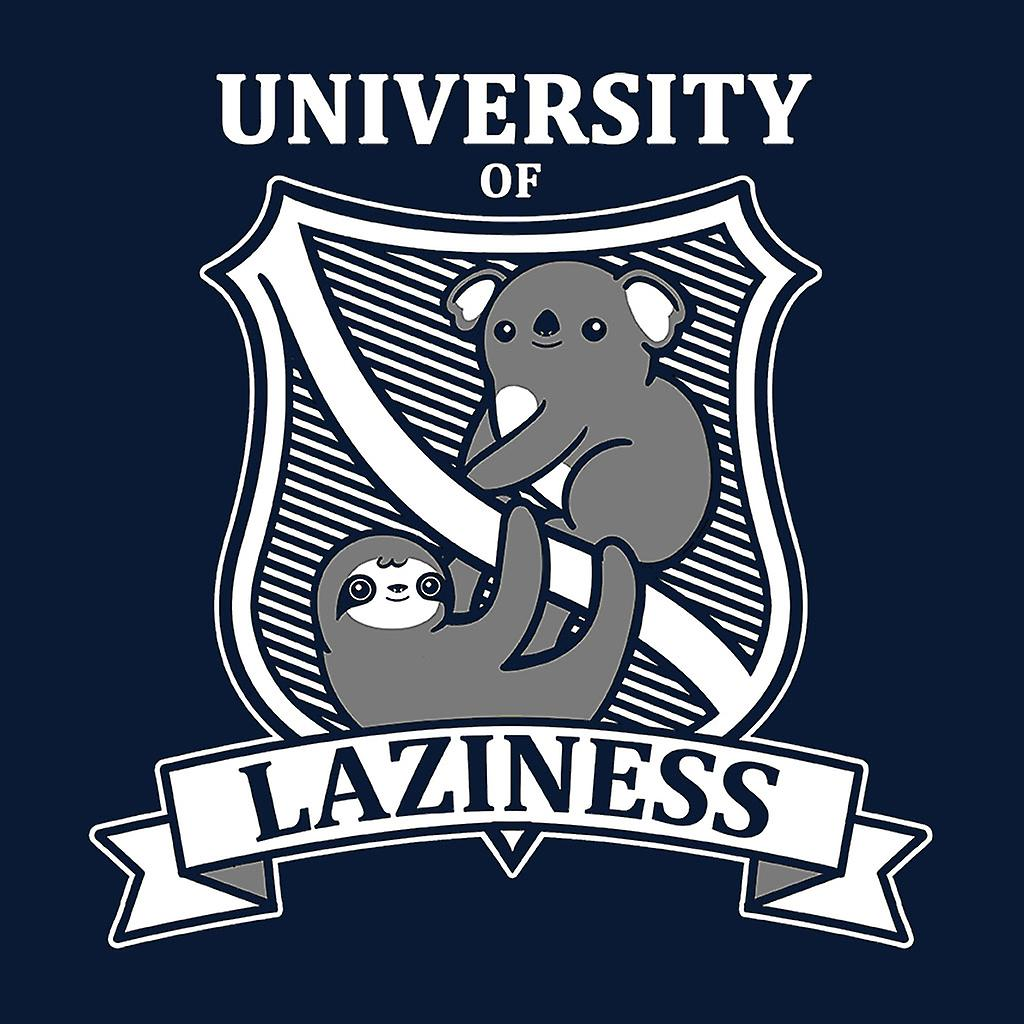 Sloth Koala Crest School Of Laziness Men's Chaqueta Varsity