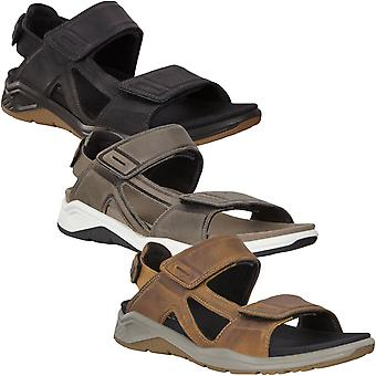 Ecco Mens X-Trinsic Outdoor Trail Walking Hiking Sandals Shoes