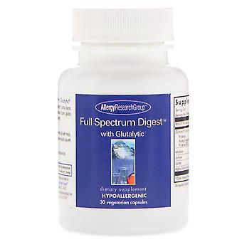 Allergy Research Group, Full Spectrum Digest with Glutalytic, 30 Vegetarian Caps