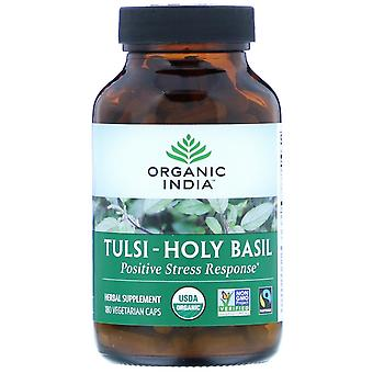Organic India, Tulsi-Holy Basil, 180 Vegetarian Caps