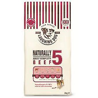 Laughing Dog 5 Wheat Free Beef Complete - 12kg