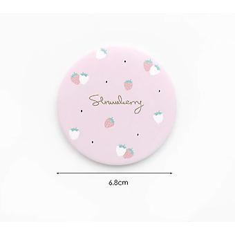 Cartoon Anti-fall Bærbare Lille Makeup Pocket Mirror For Beauty Tools