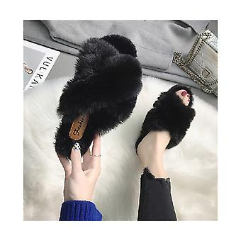 Women's Fur Fluffy Slippers