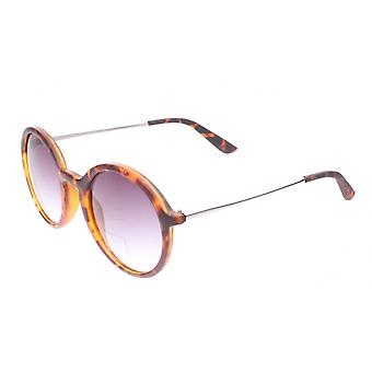 Sunglasses Unisex Brown with Purple Lens (ml6665)