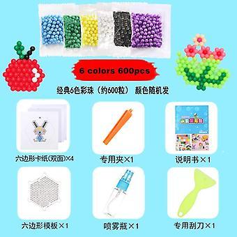 6000kpl / sarja 4,5mm Diy Water Spray Magic Beads Kit Eläinmuottien käsintekeminen - 3d
