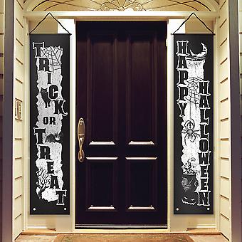 Halloween Vertical Door Banners