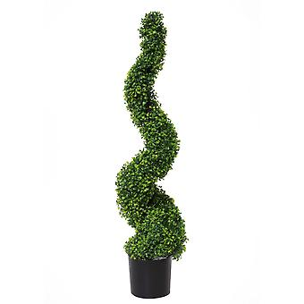 125cm Artificial Spiral Topiary Tree UV Protected
