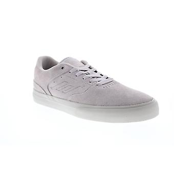 Emerica Low Vulc Mens Pink Suede Lace Up Skate Sneakers Shoes
