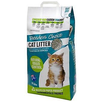 Criadores gatos escolha 8kg (24 Ltr)