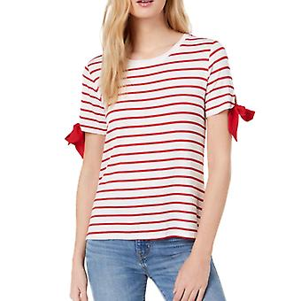 Maison Jules | Croissant Striped Tie-Sleeve T-Shirt