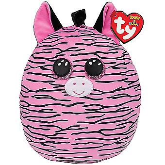 TY Zoey Zebra Squish-a-boo