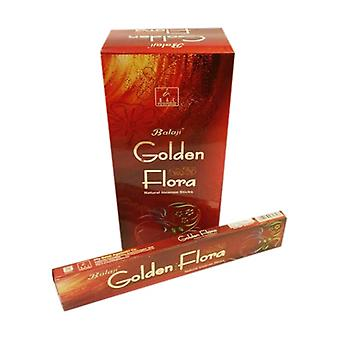 Incienso Golden Flora Balaji 15 g