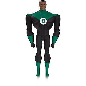 Justice League animerte Gl John Stewart Af (Net) USA import