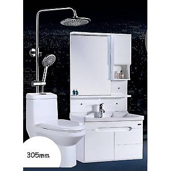 Modern Simple Whole Bathroom Cabinet Combination One Piece Toilet Set Sanitary Ware Shower Bath Suit With A Sink