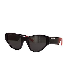 Balenciaga BB0097S 002 Gafas de sol negro-rojo/gris