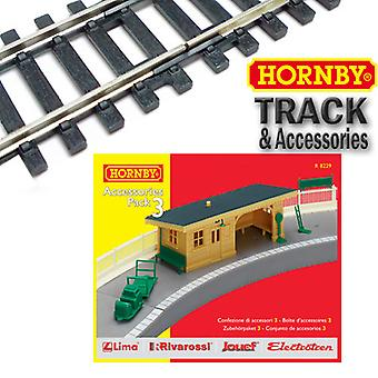 Hornby R8229 - Building Accessories Pack 3