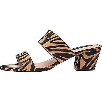 Steven by Steve Madden Women's Shoes Viviene Calf Hair Open Toe Casual Mule S...