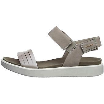 ECCO Naisten flowt nahka avoin toe rento urheilu sandaalit
