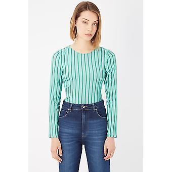 Please Green White Tops & T-Shirt