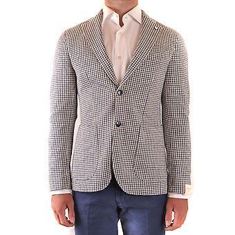 L.b.m. Ezbc215029 Men's Blue Cotton Blazer