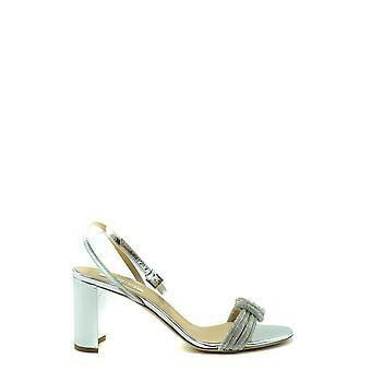Ninalilou Ezbc115021 Women's Silver Leather Sandals