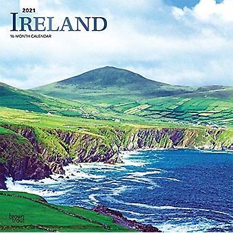 أيرلندا 2021 تقويم احباط مربع بواسطة براونتروت