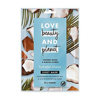 Coconut Water & Mimosa Flower face mask 21 ml
