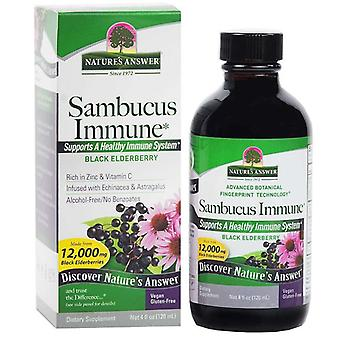 Nature's Answer Sambucus Immune Defence 120ml 1395
