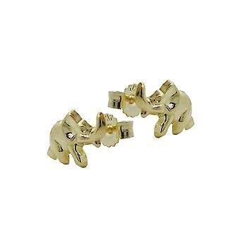 Øreringe Elefanter 9kt Guld